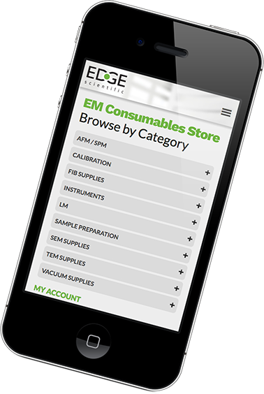 Edge Scientific EM Consumables Store